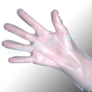 Disposable Transparent HDPE Protective PE Glove For Food
