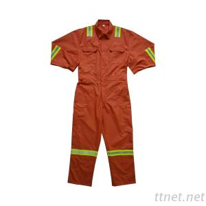 Orange Comfortable Snickers Workwear