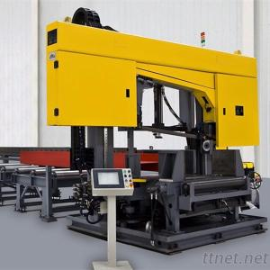 Cnc Band Sawing Machine For Beams