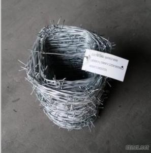 16 Gauge Galvanized Barbed Wire