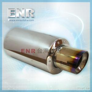 T165M-102-3-GK gold titanium muffler