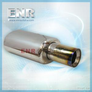T2014M-102-4-GK gold titanium muffler