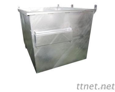 Supplying 3.0M Galvanized Front Load Bin