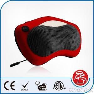 Car Seat Kneading Neck And Shoulder Massage Pillow With Infrared Heat