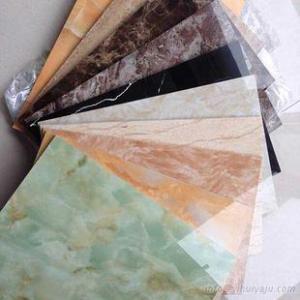 PVC wall decorative UV marble panel