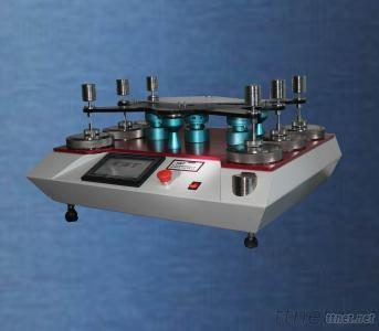 Martindale Abrasion Tester And Pilling Properties Test For Textile Fabrics