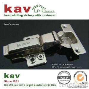Clip On 2D Cam Adjustable Hydraulic Hinge