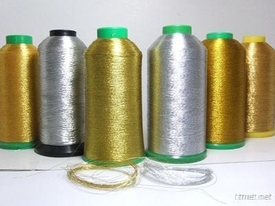 MS L Type Of Multi Color Metallic Lurex Yarn Thread For Embroidery, Knitting Sweaters Fabrics, Lace, Woven, Tassels, Strands