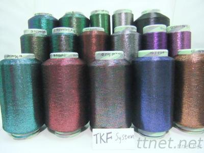 TKS/TKF Type Of Mulit Color Metallic Lurex Yarn Thread