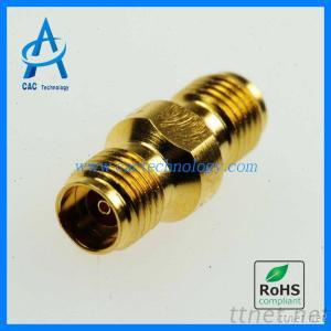 2.92Mm Connector Female To Female 40GHz Gold Plated