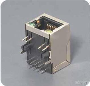 RJ45 Connector With Transformer/Magnetic Led HR911105A
