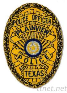 Embroidered Emblem-Police