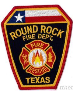 Embroidered Emblem-Fire Department
