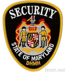 Embroidered Emblem-Security