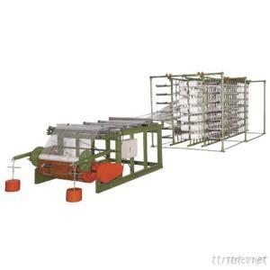 Warping Machine With Cheese Creel