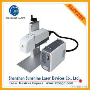 3D Fiber Laser Engraving Machine For Metal Products