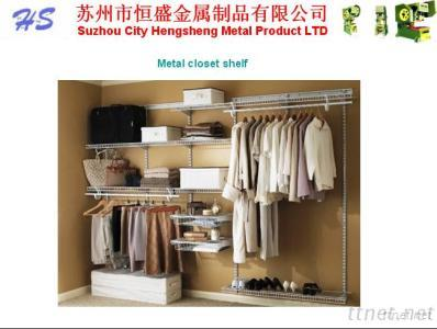 Metal Closet Shelves, Wall Wardrobe, Wardrobe, Surface Coating