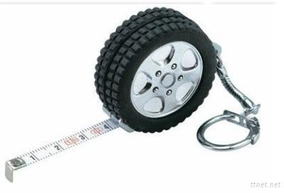 Tyre Shape Tape Measure, Mini Tape Measure With Keychain