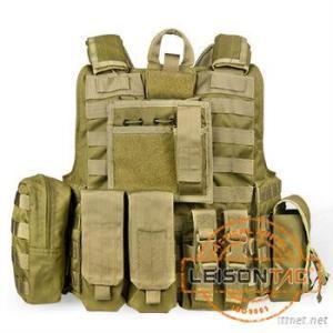 1000D Cordura Or Nylon Bulletproof, Ballistic Vest With NIJ IIIA