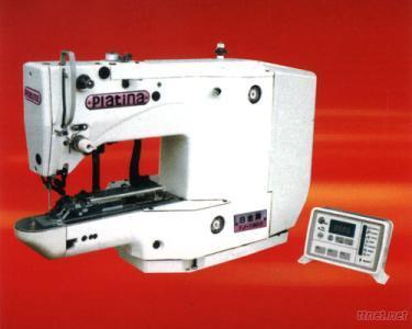 Electronic Lockstitch Button Sewing Machine