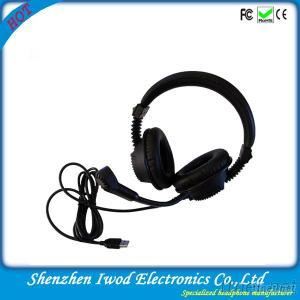 2014 Cheap Wholesale Language Lab Headset for Computer Windows And Laptops With Microphone