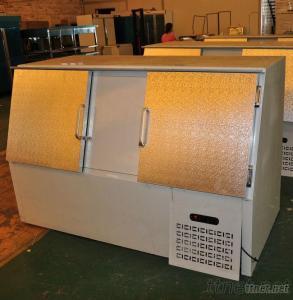 Gas Stataion Ice Storage Bin For Sale