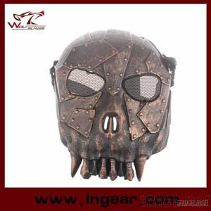 High Quality DC-01 Troop Skull Tactical Mask, Full Face Mask