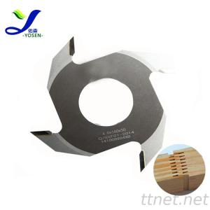 3.7*160-2 Woodworking Machinery TCT Finger Joint Knife For Particle Board