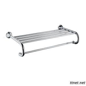 Modern Brass Bathroom Accessories Towel Shelf