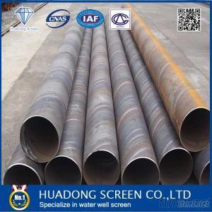 HUADONG Submerged Arc Spirally Welded Steel Pipe For Drilling Pipe