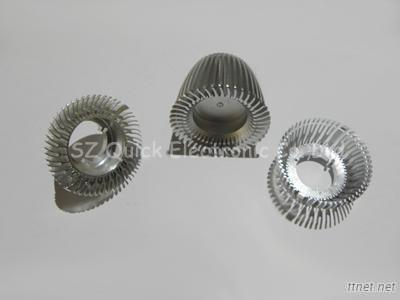 CNC Machining Services Aluminum Extrusion Shapes With Galvanized / Plating