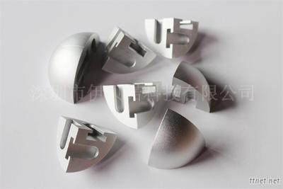 CNC Lathed Aluminum Part