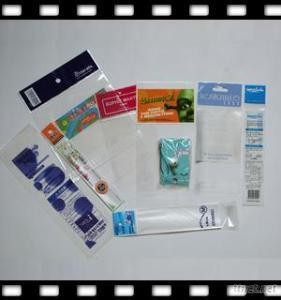 Food Safe Printed Header Bopp Bag