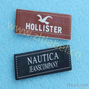 Custom Leather Patch&Tag For Jeans And Jackets