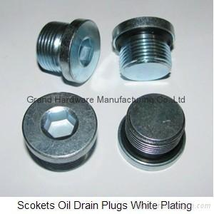 Hexagon steel Oil Drain Plug