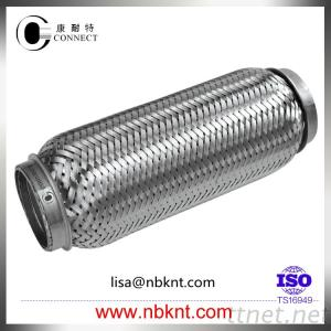 Stainless steel flexible pipe of muffler