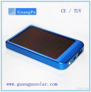 2600mAh Solar Mobile Phone Charger with flashlight