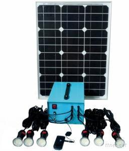 Mini Solar Home Light System