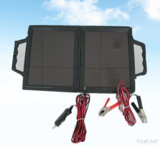 14W Amorphous Solar Foldable Car Battery
