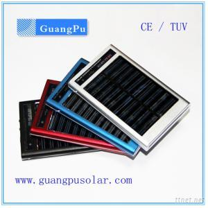 2600mAh Solar Power Bank Mobile Battery Charger