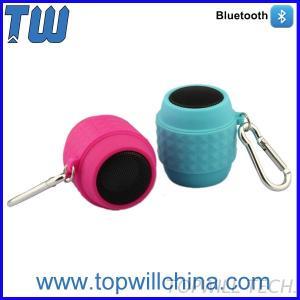 Wine Barrel Waterproof Portable WIRELESS Mini Bluetooth Speaker With Free Carabiner