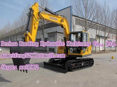 New Small Crawler Excavator BD80 Excavator Machine 0.2-0.5M3 Bucket