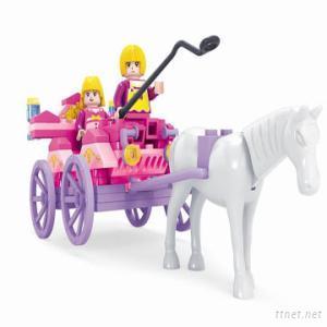 117Pcs Fairyland Enlighten Brick Toys For Kids