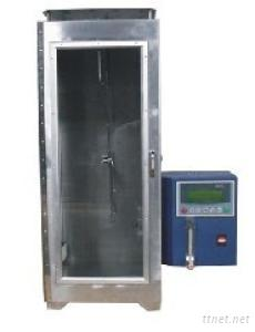 Fabric Flammable Chamber Vertical Flammability Tester