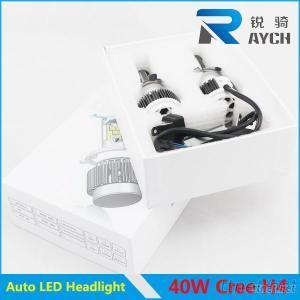New C REE Xml2 LED Headlight H4 LED Car Headlight 40W 3600LM H4 H7 H8 H9 H11 9005 9006