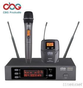 160 CHN UHF True Diversity Wireless Microphone System