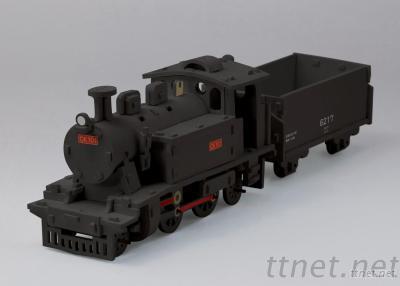 DIY Foam Locomotive Train Puzzles
