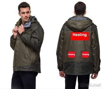 Sports Jacket With Battery Heating System Electric Heating Clothing Warm OUBOHK