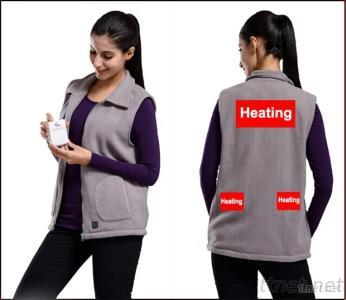 Women Vest With High-Tech Electric Heating System Battery Heated Clothing Warm OUBOHK