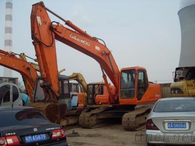 Used Daewoo Excavator